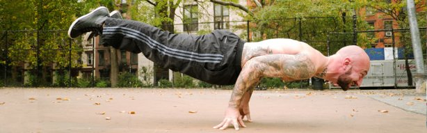 Planche posture calisthenics, bodyweight training, strength training.