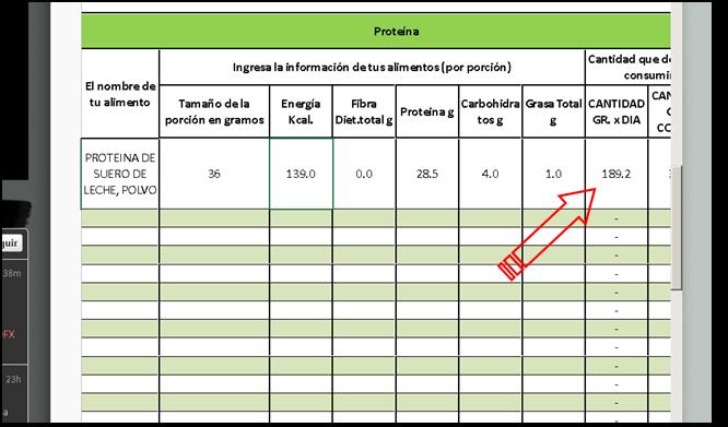 Calculadora de perdida de peso completa en espanol