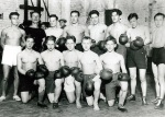 1920'S TEENAGERS BOXING TEAM, VINTAGE, TESTOSTERONE, BODY COMPLEXION