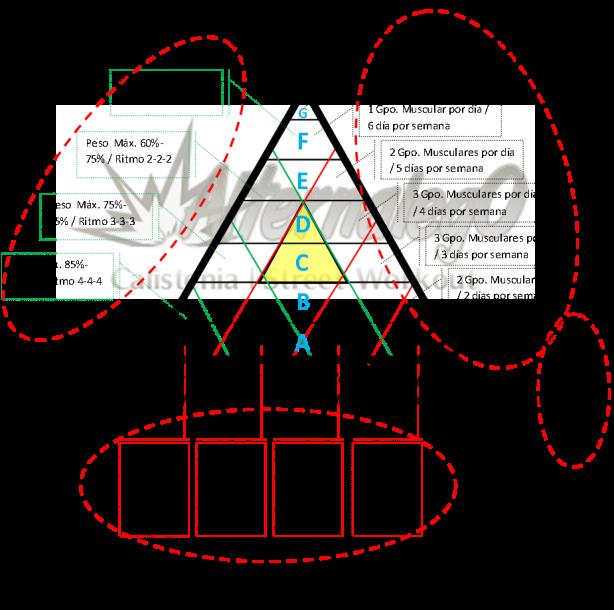 elementos en mapa circulos rojos