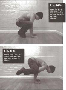 parada de cuervo (crow stand) calistenia entrenamiento de fuerza, entrenamiento de peso corporal, calisthenics, bodyweight training, stregth training. convict conditioning, paul coach wade