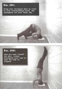 Parada de mano apoyada en cabeza (head handstand) calistenia entrenamiento de fuerza, entrenamiento de peso corporal, calisthenics, bodyweight training, stregth training. convict conditioning, paul coach wade